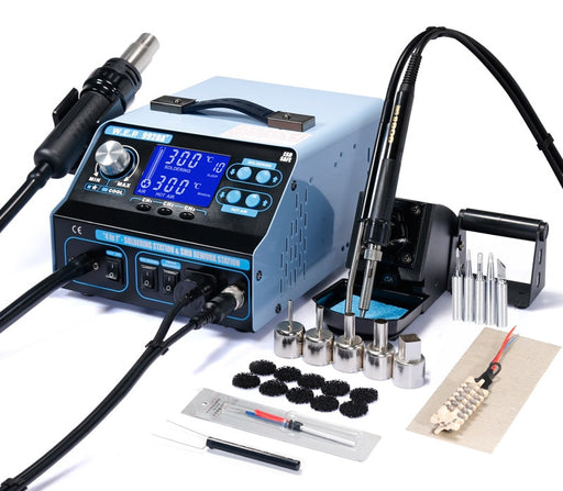 Soldering Station with Suction and SMD Reflow Gun from PMD Way with free delivery worldwide