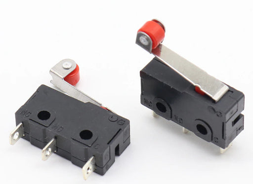 SPDT Mini Microswitch with Roller Lever Arms in packs of ten from PMD Way with free delivery worldwide