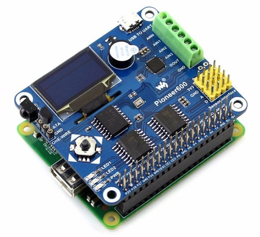 Super Multifunction Raspberry Pi Expansion HAT from PMD Way with free delivery worldwide