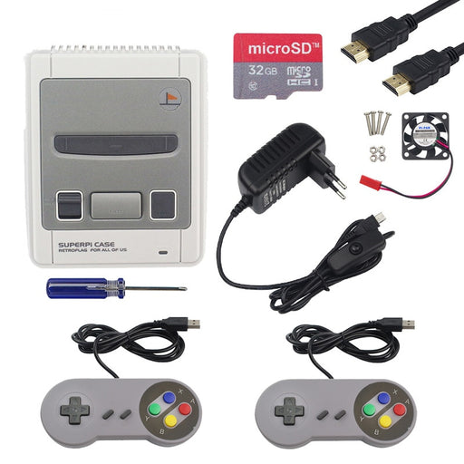 Super NES Pi Gaming Kit for Raspberry Pi 3B+ from PMD Way with free delivery worldwide