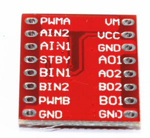 TB6612FNG Dual Motor Driver Board - Ten Pack from PMD Way with free delivery worldwide