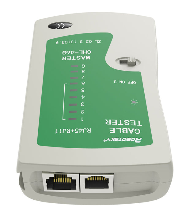 Test telephone and network cables with the RJ11 to Cat6e Network Cable Tester from PMD Way with free delivery worldwide