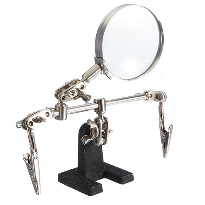 Third Hand Tool with 4X Magnifying Glass from PMD Way with free delivery worldwide