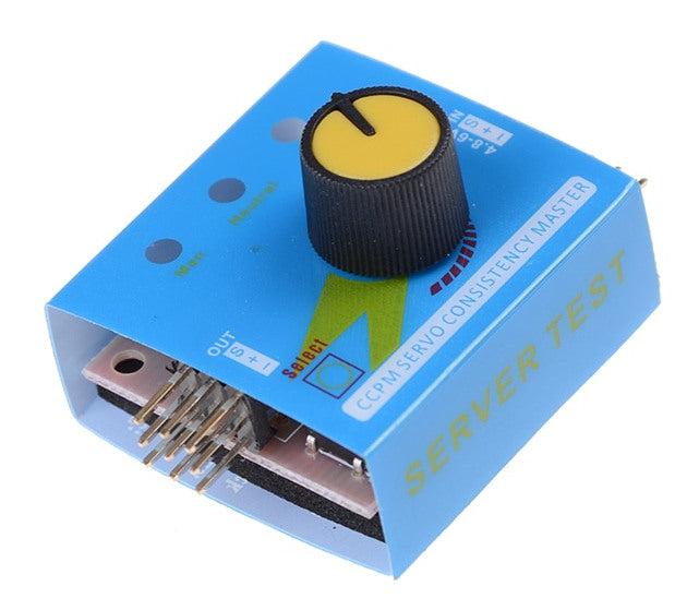 Three Channel Servo Tester from PMD Way with free delivery worldwide