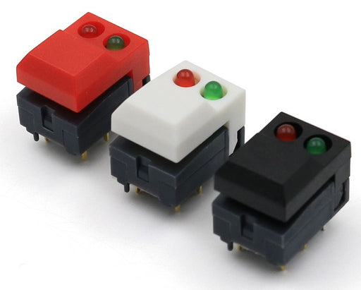 Twin LED Tactile Buttons in packs of ten from PMD Way with free delivery worldwide