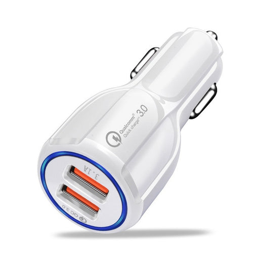 Dual USB Car Charger with Quick Charge 3.0 from PMD Way with free delivery worldwide