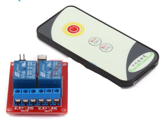 Infra Red Remote Control Relay Module - Two Channel from PMD Way with free delivery worldwide