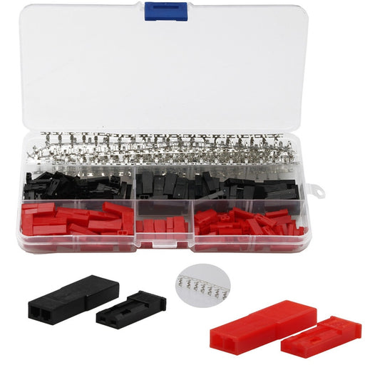 Two Pin Dupont Wire Housing Kit - 600 Pieces from PMD Way with free delivery worldwide