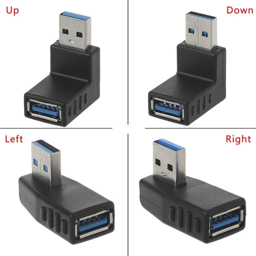 90 Degree USB 3 Adaptors from PMD Way with free delivery worldwide
