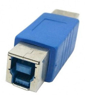 USB 3 B Socket to Socket Adaptor from PMD Way with free delivery worldwide