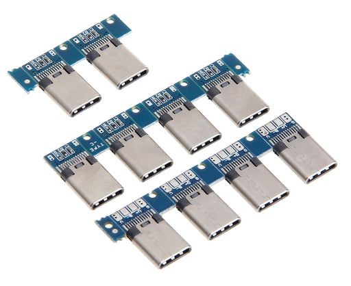 USB C 3.1 Plug Breakout Board - 10 Pack from PMD Way with free delivery worldwide