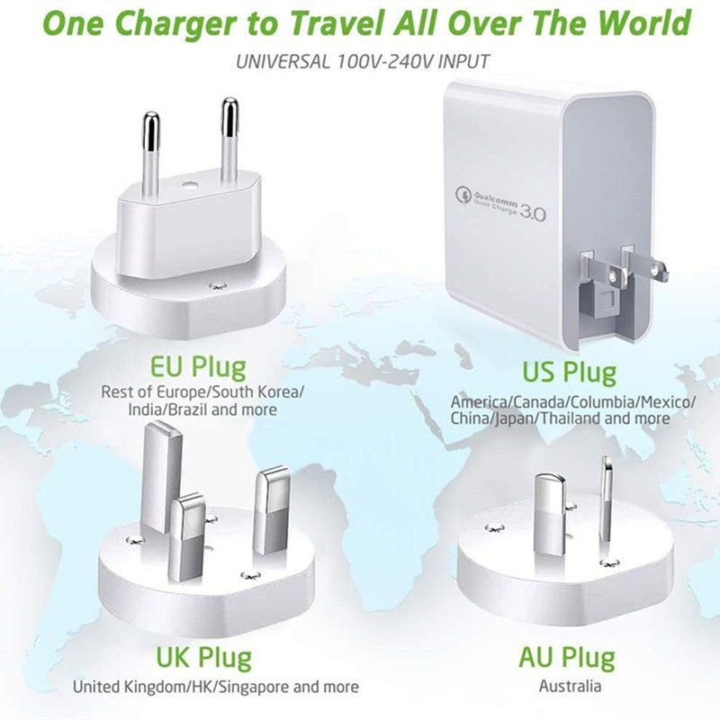 AC to USB C Power Delivery Adaptor - 48W from PMD Way with free delivery worldwide