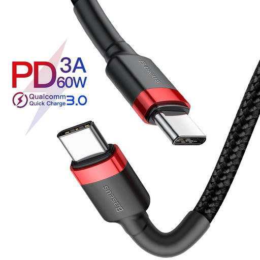 USB C 60W Power Delivery Cables from PMD Way with free delivery worldwide