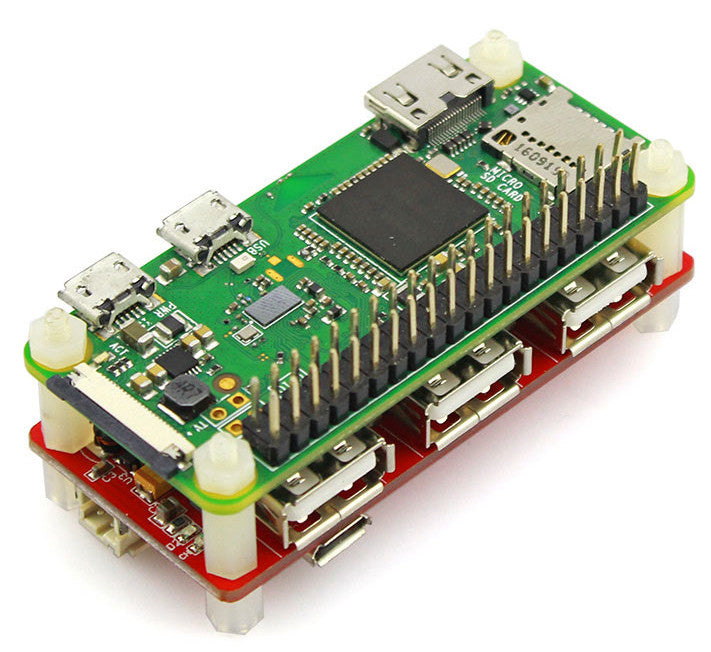 USB Hub and Power Manager pHAT for Raspberry Pi Zero from PMD Way with free delivery worldwide