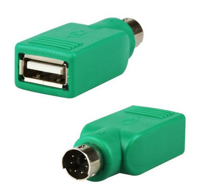 Useful USB Socket to PS/2 Plug Adaptor from PMD Way with free delivery worldwide