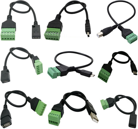 USB to Terminal Block Breakout Cables from PMD Way with free delivery worldwide