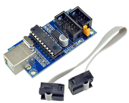 Upload code to your AVR or Arduino with the USBtinyISP ISP Programmer for AVR and Arduino from PMD Way with free delivery, worldwide