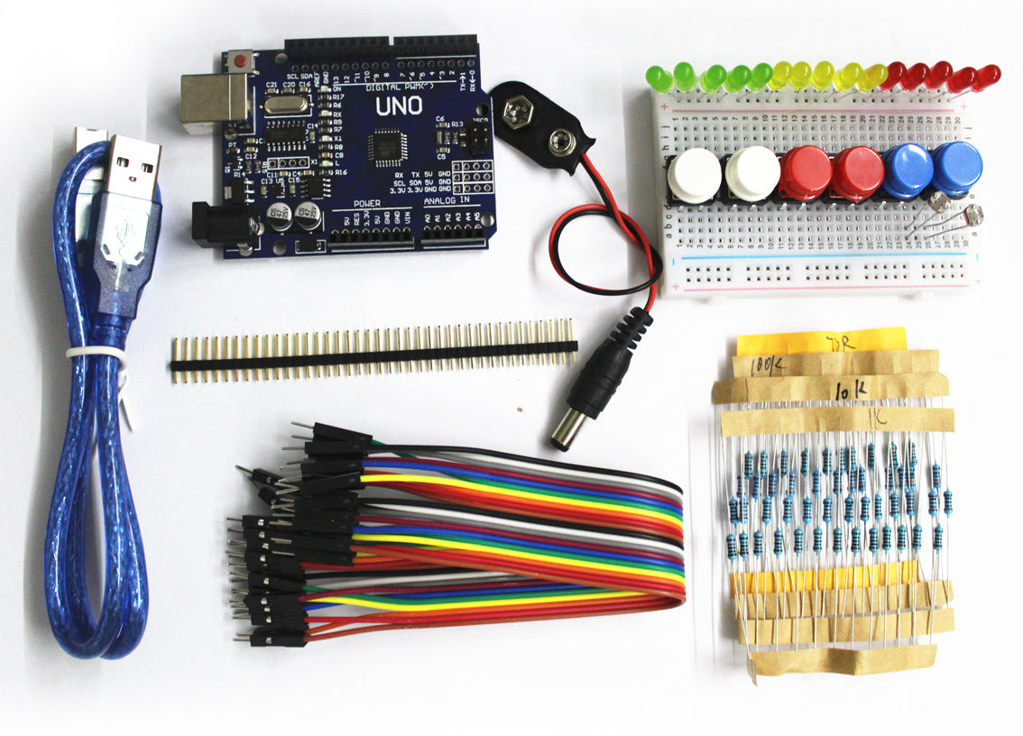 Great value Value Parts Bundle with Arduino Uno Compatible from PMD Way with free delivery, worldwide