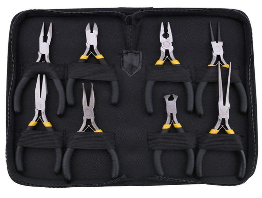 Value Eight Piece Pliers and Cutters Kit