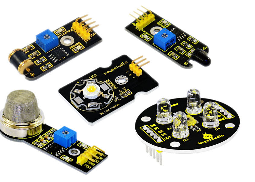 Learn about measuring with sensors using the Value Sensor Starter Kit for Arduino from PMD Way - with free delivery, worldwide
