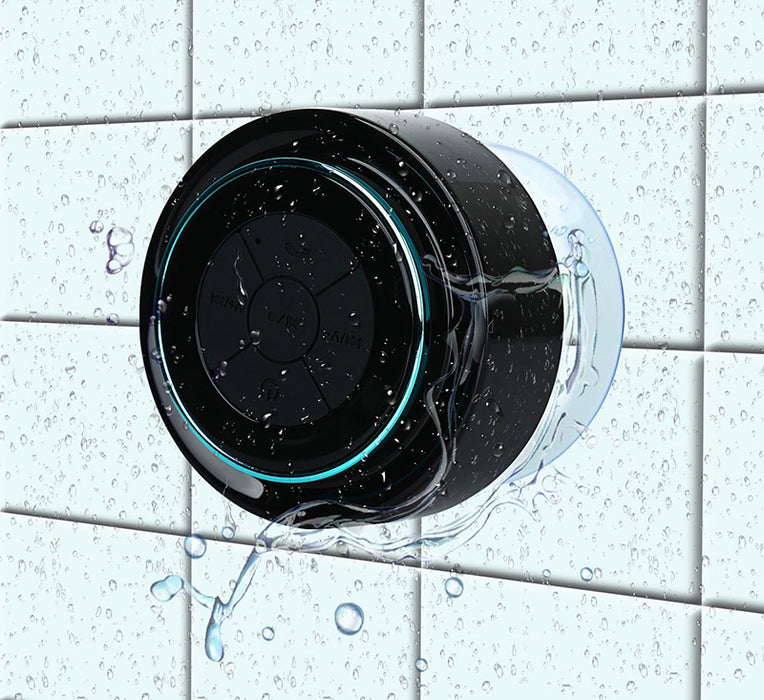 Listen to music or take phone calls in the shower with the Waterproof Bluetooth Speaker from PMD Way with free delivery, worldwide