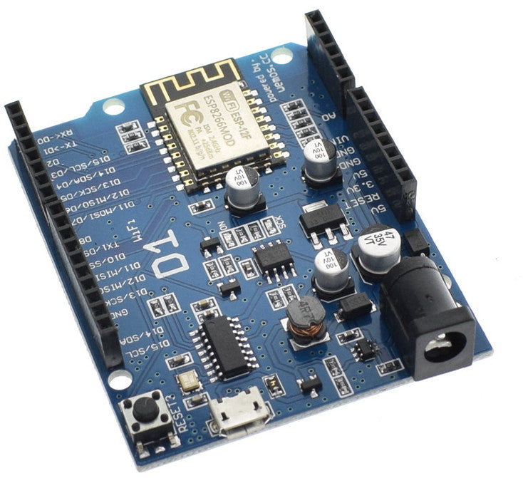 Arduino Uno R3 Compatible powered by ESP8266 WiFi Microcontroller from PMD Way with free delivery, worldwide
