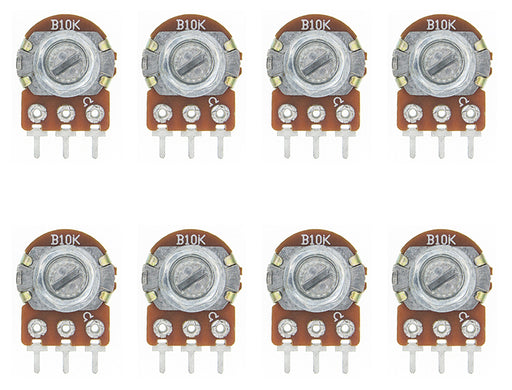 Linear WH148 type Potentiometers in packs of ten from PMD Way with free delivery worldwide