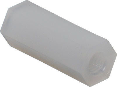 White Nylon Tapped Standoff Spacer - 50 Pack from PMD Way with free delivery worldwide