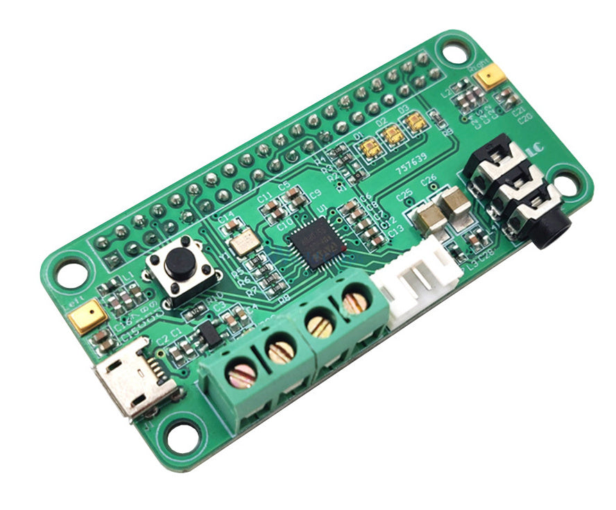 WM8960 Stereo Codec with Class D Speaker Driver pHAT for Raspberry Pi from PMD Way with free delivery worldwide