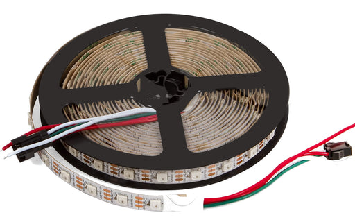 WS2812B RGB LED Strip - 60 LED/m - 4m Roll - White PCB from PMD Way with free delivery worldwide