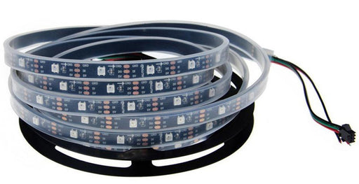 WS2812B RGB LED Strip - 30 LED/m - 5m Roll - Black PCB - IP65 from PMD Way with free delivery worldwide