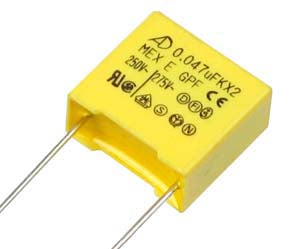 Great value X2 Suppression Capacitors 275V AC in packs of ten from PMD Way with free delivery worldwide