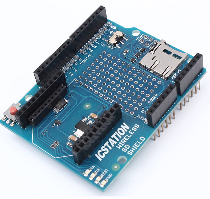 Great value XBee Shield for Arduino with micro SD Card Socket from PMD Way with free delivery, worldwide