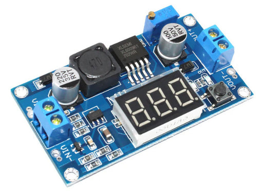 XL6009 Adjustable DC-DC Boost Converter Module with Display - 5 to 30V from PMD Way with free delivery worldwide