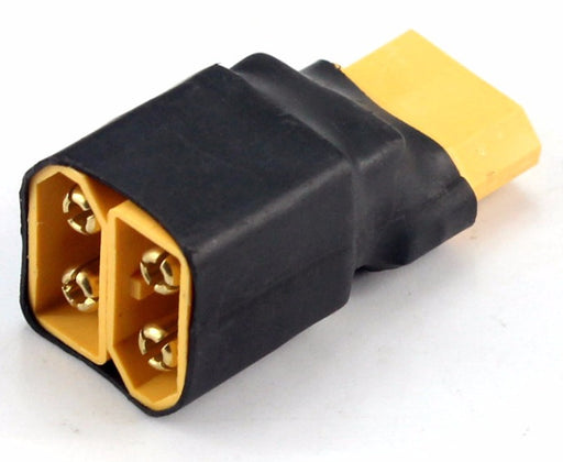 XT60 Connection Adaptor - Twin Male to Single Female from PMD Way with free delivery worldwide