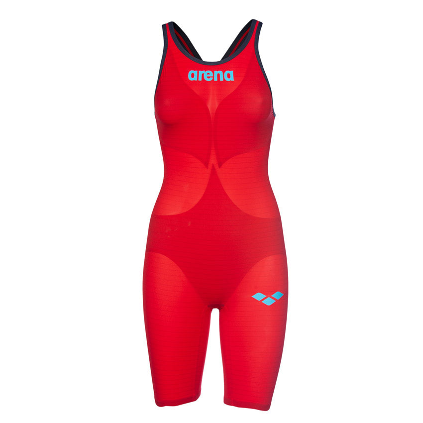 Arena Women's Carbon Air 2 Open Back Racesuit- Red