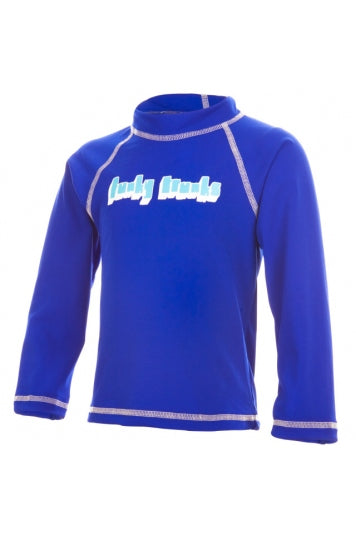 Funky Trunks Long Sleeve Rash Vest- Still Speed