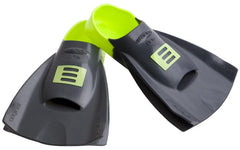 DMC Original Short Training Fins- Charcoal/ Fluro