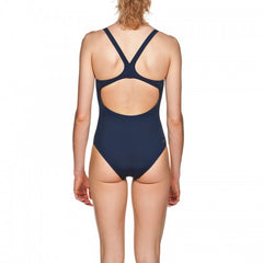 Arena Women's Solid Swim Pro One Piece- Navy