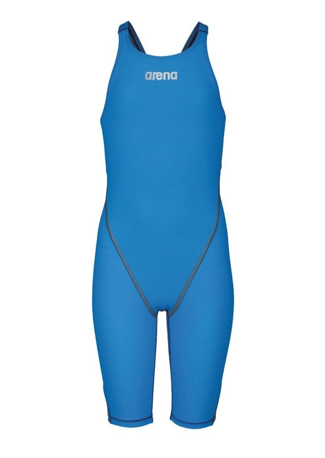 Arena Powerskin ST 2.0 Girl's Open Back Racesuit-Royal