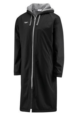 Speedo Unisex Deck Parka- Black