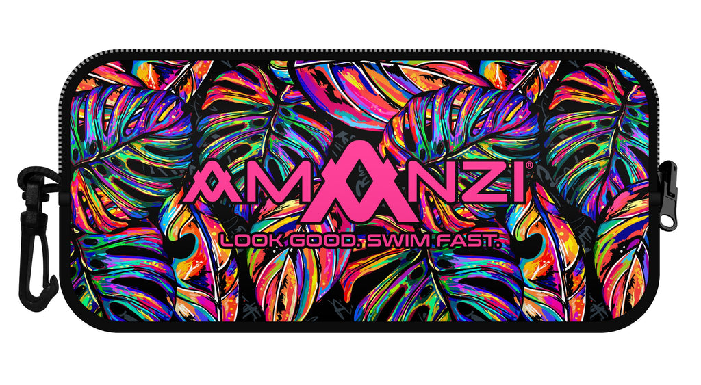 Amanzi Goggle Case- Tropical Twilight