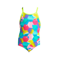 Funkita Girl's One Piece- Hexy Back