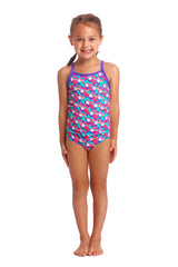 Funkita Girl's Eco Tankini Two Piece- Tou Tou