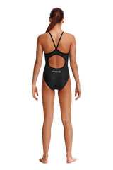 Funkita Girl's Diamond Back One Piece-  Bear Bum