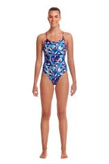 Funkita Women's Diamond Back One Piece- Futurismo