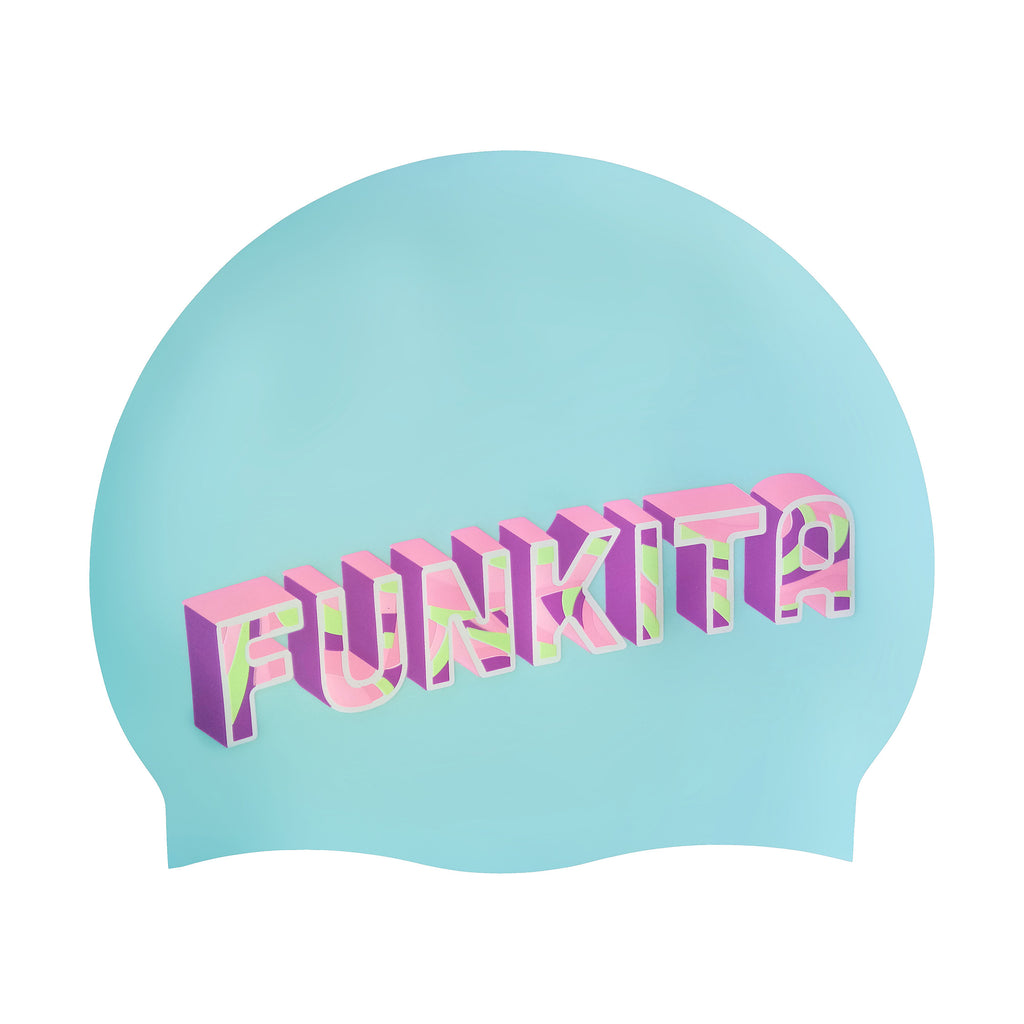 Funkita Swim Cap- Summer Bay