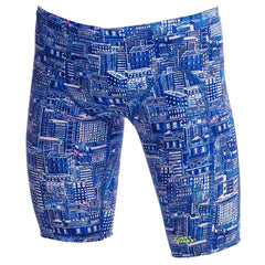 Funky Trunks Men's Jammer- Sky City