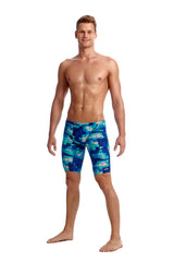 Funky Trunks Men's Jammer- Deep Impact
