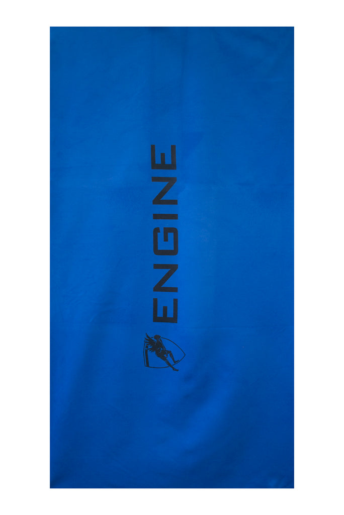 Engine Microfibre Towel- Blue